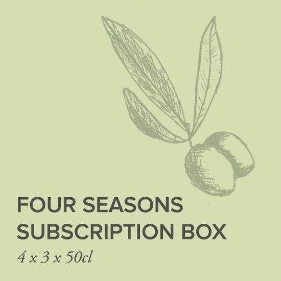 Frantoi 4 seasons box