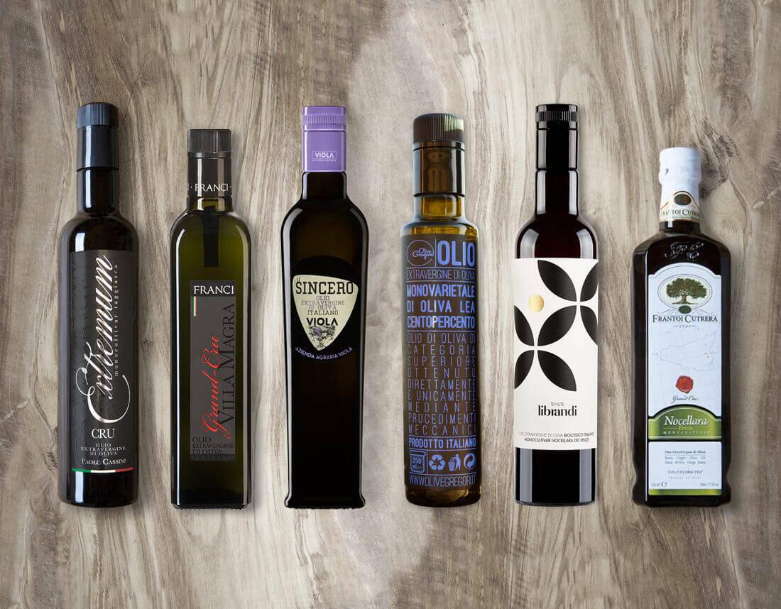 Frantoi Monocultivar Oils Box