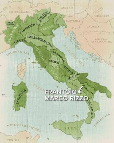 Frantoio Marco Rizzo, map