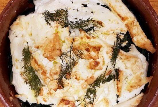 Frantoi's vegetable saganaki recipe