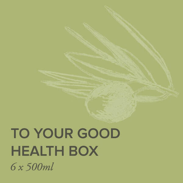 To your good health tile